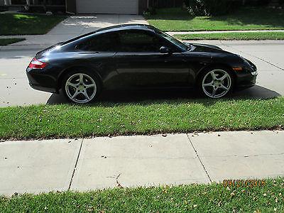 Porsche : 911 Carrera Coupe 2-Door 2008 porsche 911 carrera coupe 2 door 3.6 l black