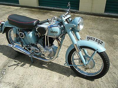 Norton : ES2 1954 norton es 2 500 cc