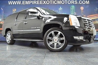 Cadillac : Escalade ESV NAVIGATION REAR VIEW CAMERA SUNROOF 22 INCH WHEELS AUTO LIFTGATE