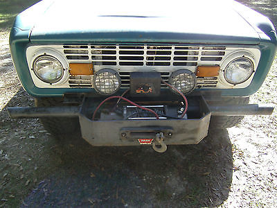 Ford : Bronco None 1973 ford bronco