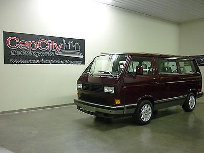 Volkswagen : Bus/Vanagon GL 1990 volkswagen vanagon gl with subaru 2.2 l gorgeous