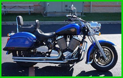 Victory : Kingpin® Used 99 Polaris Victory 365 Floorboards Backrests Exhaust Saddlebags
