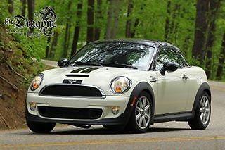 Mini : Cooper S S 2012 mini cooper s coupe automatic