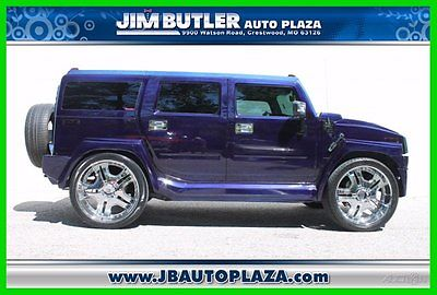 Hummer : H2 Base Sport Utility 4-Door 2006 hummer customized by a member of the st lunatics 34 xxx miles wow