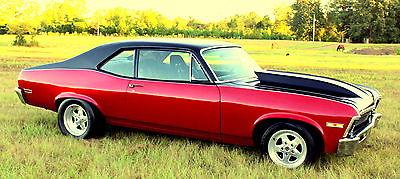 Chevrolet : Nova SS NOVA 496 BBC 1972 nova ss 496 bbc new interior drop spindles disc brakes cowl hood pro drag