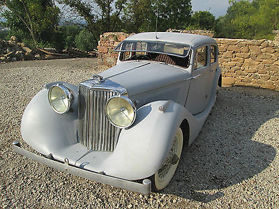 Jaguar : Other sedan deluxe 1947 jaguar mark iv