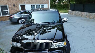 Lincoln : Blackwood Blackwood 2002 lincoln blackwood luxury pick up truck 5.4 l v 8 4 door super crew cab