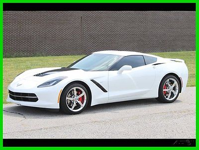 Chevrolet : Corvette Stingray Coupe 2-Door 2014 used 6.2 l v 8 16 v automatic rwd coupe premium onstar bose