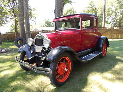 Ford : Model A 1929 ford model a coupe special very solid