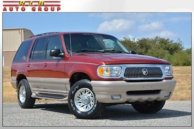 Mercury : Mountaineer 2WD 2000 mountaineer immaculate one owner luxury group leather must see low miles