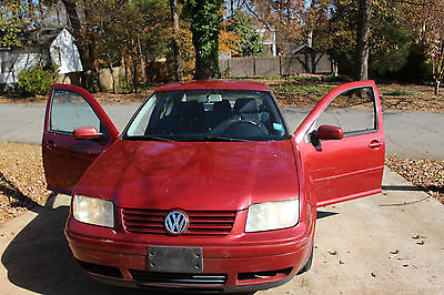 Volkswagen : Jetta Sedan 4-door 2000 vw jetta red 2.0 gls 163 k needs new transmission