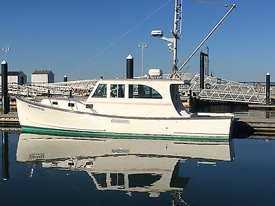 2002 38' Holland / Pettegrow downeast diesel cruise / dive / fish  lobster style