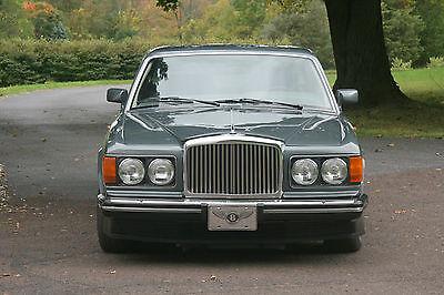 Bentley : Mulsanne S Sedan 4-Door 1989 bentley mulsanne s sedan 4 door 6.7 l