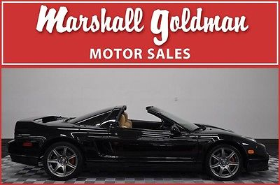 Acura : NSX T Coupe 2-Door 2002 acura nsx t black camel books sticker keys only 8300 miles
