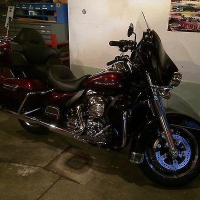 Harley-Davidson : Touring 2014 harley davidson ultra limited 2900 miles