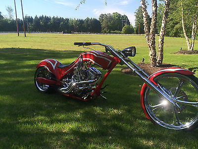 Custom Built Motorcycles : Chopper Custom built motorcycle with great design features and perfomance