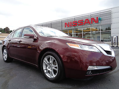 Acura : TL TL Heated Seats Power Moonroof Red V6 3.5L 2010 acura tl basque red paint heated leather sunroof 1 owner clean carfax video