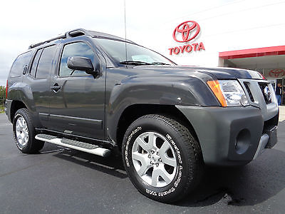 Nissan : Xterra SE 4x4 4.0L V6 Automatic Roof Rack Leather Gray  2010 xterra se 4 x 4 v 6 roof rack leather seats 47 k miles clean carfax gray 4 wd
