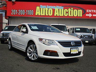 Volkswagen : Passat Sport Volkswagen CC Sport 4 dr Sedan Gasoline 2.0L 4 Cyl Candy White