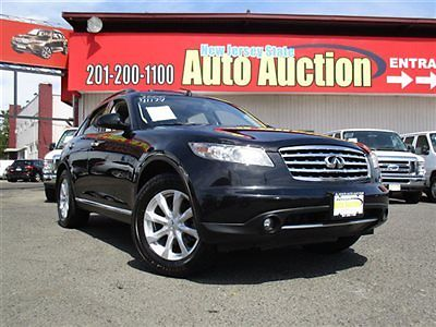 Infiniti : FX 4dr AWD Infiniti FX35 4dr AWDLeather Sunroof Navigation Back Up Camera Low Miles SUV Aut