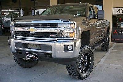 Chevrolet : Silverado 2500 LTZ 15 silverado 2500 hd ltz 6 inch pro comp lift 20 inch bmf wheels