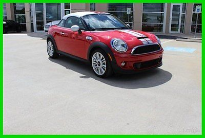 Mini : Cooper S Coupe S Coupe 2-Door 2012 used turbo 1.6 l i 4 16 v automatic front wheel drive coupe premium