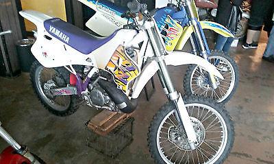 Yamaha : YZ 1993 yamaha yz 250 restored ahrma acr vintahe yamaha motocross two stroke