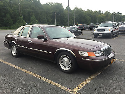 Mercury : Grand Marquis ls 2002 mercury grand marquis ls sedan 4 door