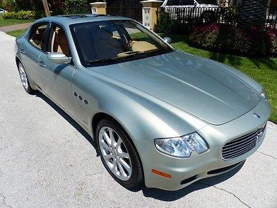 Maserati : Quattroporte Base Sedan 4-Door 2005 maserati quattroporte base sedan 4 door 4.2 l