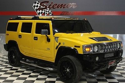 Hummer : H2 luxury yellow, lifted, custom wheels