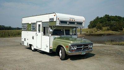 1971, GMC,3500, Custom, Vintage, Camper, 42k original miles, Great solid driver.