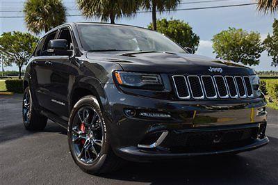 Jeep : Grand Cherokee SRT8 2014 jeep grand cherokee srt 8 dual pane sunroof black chrome 20 wheels