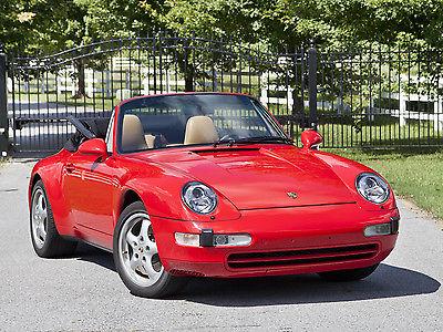 Porsche : 911 Carrera Convertible 2-Door 993 c 2 cabriolet