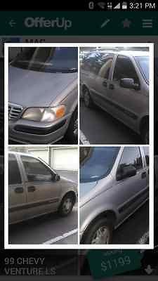 Chevrolet : Venture Luxury Sport Gray 1999 Chevy Venture Luxury Sport Minivan w/15