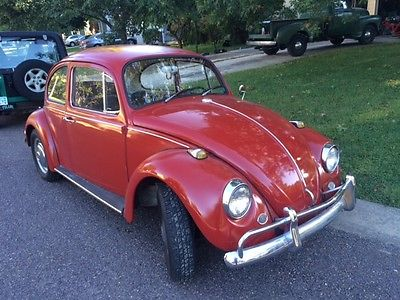 Volkswagen : Beetle - Classic Beetle coupe 1967 vw beetle 1600 cc 1973 dual port w 87 mm pistons body ding rust free