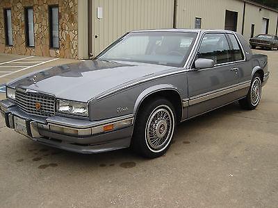 Cadillac : Eldorado Biarritz 1990 cadillac eldorado biarritz clean 2 owner california car