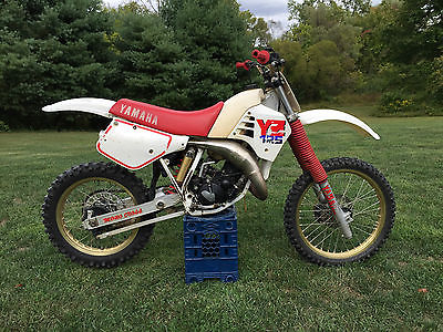 Yamaha : YZ 1987 yamaha yz 125 original vintage dirtbike ahrma motocross survivor rare cr kx