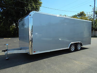 NEW 2016 ATC ALL ALUMINUM 8.5x20 TRAILER RACE CAR HAULER