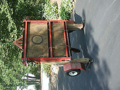 4' x 8' collapsible utility trailer