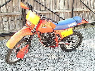 Honda : XR 1984 honda xr 250 r beautiful original paint unmolested xr 250 r motorcycle