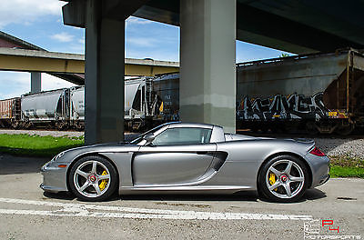 Porsche : Carrera GT Ascot Brown All Leather / GT Silver Metallic Porsche Carrera GT / Ascot Brown All Leather / GT Silver Metallic
