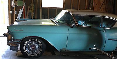 Cadillac : DeVille Coupe DeVille 1957 cadillac coupe deville 365 ci v 8 blue
