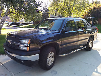 Chevrolet : Avalanche Z71 2006 chevy avalanche 4 wd z 71 truck ready for winter