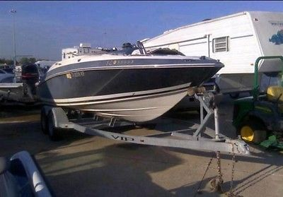 2006 VIP 202 SBRC VANTAGE 20 BOAT FOR SALE CHEAP REPAIRABLE DAMAGE CLEAN TITLE