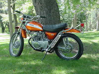 Honda : Other HONDA SL 175 SL175 MOTORSPORT 125 350 XL CL DUAL SPORT ENDURO BIKE