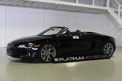 Audi : R8 2dr Convertible Automatic quattro Spyder 5.2L 2011 audi r 8 5.2 v 10 r tronic w only 8 k miles