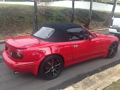 Mazda : MX-5 Miata MX5 Mazda miata red excellent conditions