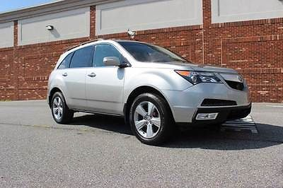 Acura : MDX SH-AWD Tech NAVI 4dr SUV w/Technology Package 2012 acura mdx 4 doo sh awd leather navi back up camera technology package
