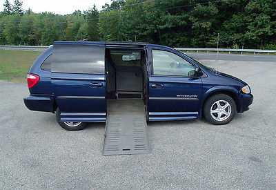 Dodge : Caravan Sport Mini Passenger Van 4-Door 2003 dodge expended sport caravan handicap wheelchair van one owner