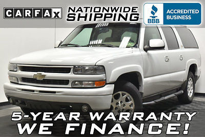 Chevrolet : Suburban Z71 4x4 Loaded Z71 4WD 5 Year Warranty Nationwide Shipping Leather Auto 8 Passenger